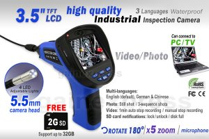 cia360-3-5-lcd-endoscope-5-5mm-dia-camera-video-sound-recording-w-mic-2g-sd-card